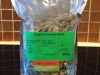 Pumpkin seeds, 500g (Raw organic)