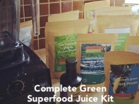 Davinder's complete green juice kit