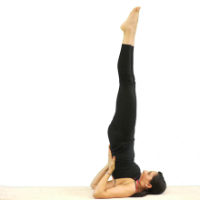 Shoulderstand Plus Plow Variation