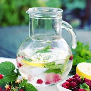 Fruit-Water-Peppermint