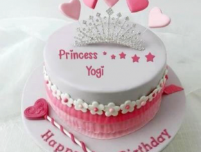 Princess Yogi Birthday Cake