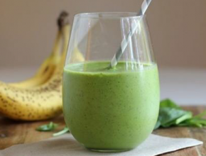 Raw Protein Spinach Milk