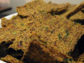 Saucy Seed & Punchy Pulp Crackers