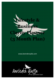 Lifestyle and Business Clarity Planner