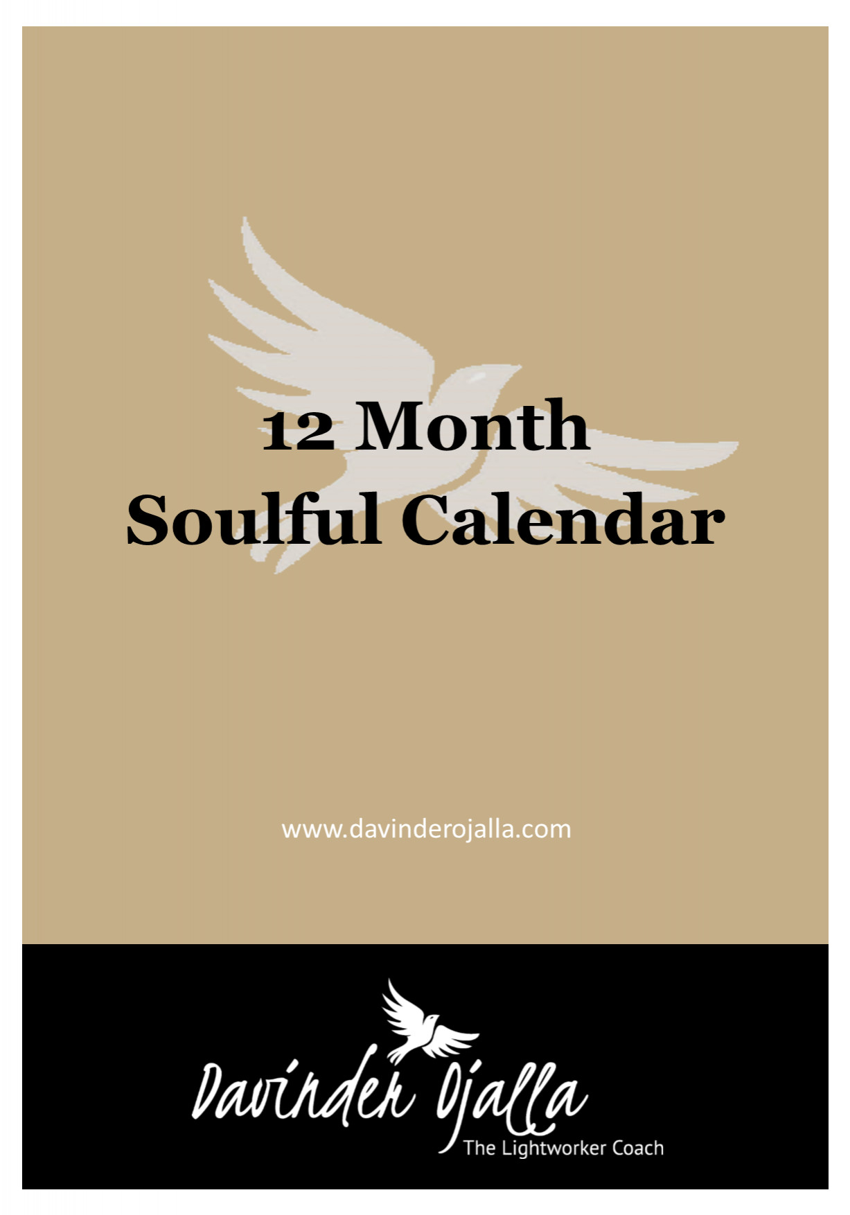 12 Month Soulful Calendar