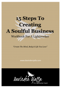 15 Steps To Creating A Soulful Business Workbook For A Lightworker