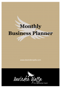 Monthly Business Planner